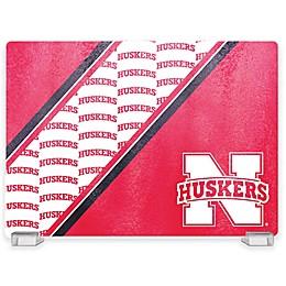 University of Nebraska Tempered Glass Cutting Board