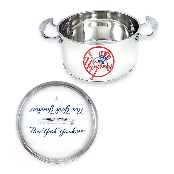 Alternate image 1 for MLB New York Yankees 5 qt. Chili Pot