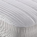 Wamsutta® Dobby Stripe Queen Mattress Pad in White