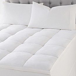 Wamsutta® Quilted Top Featherbed Mattress Topper in White