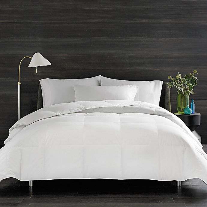 Alternate image 1 for Real Simple® HomeGrown™ Solid Down Comforter
