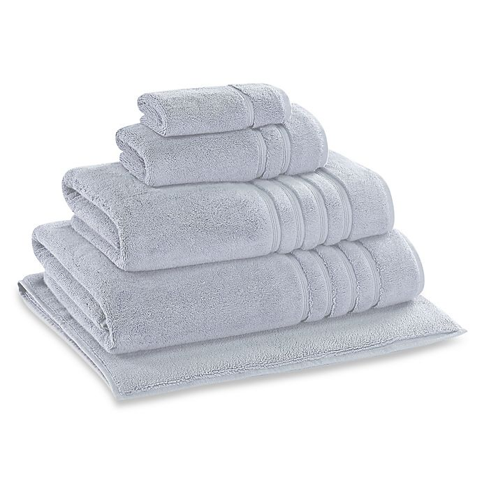 Alternate image 1 for Wamsutta® Collection Turkish Hand Towel in Light Blue