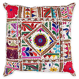 Surya Kilani 18-Inch Throw Pillow in Burgundy