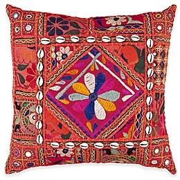 Surya Konakovo 22-Inch Throw Pillow in Rust