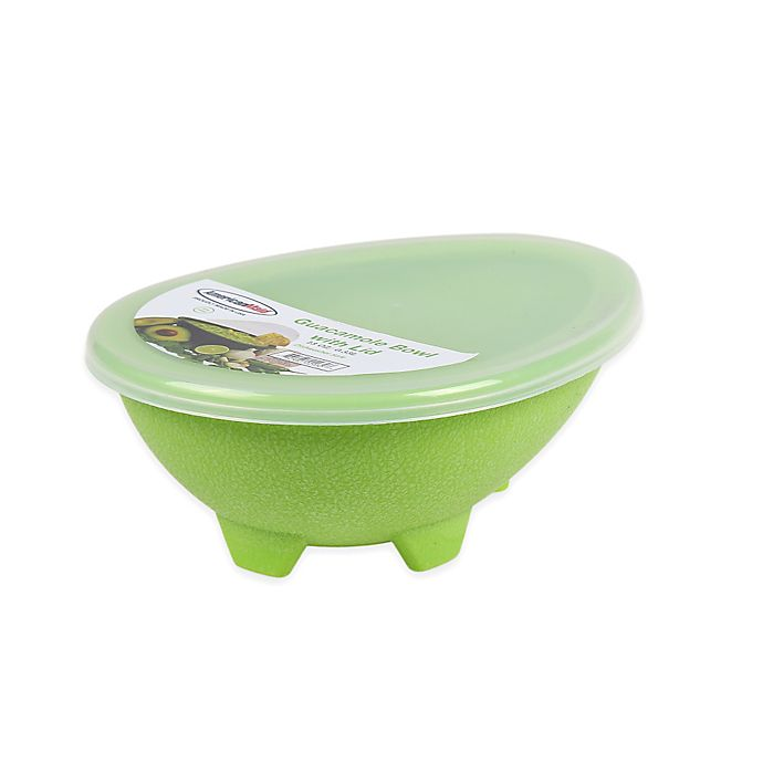Alternate image 1 for 2-Piece Small Guacamole Bowl with Lid