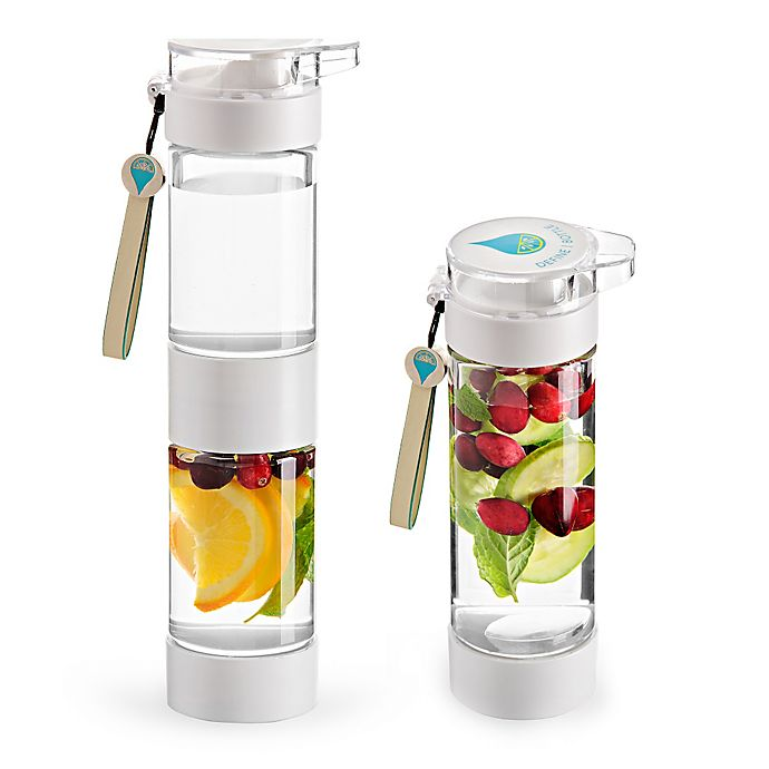 Alternate image 1 for Define Bottle Flip Cap Infuser Water Bottle