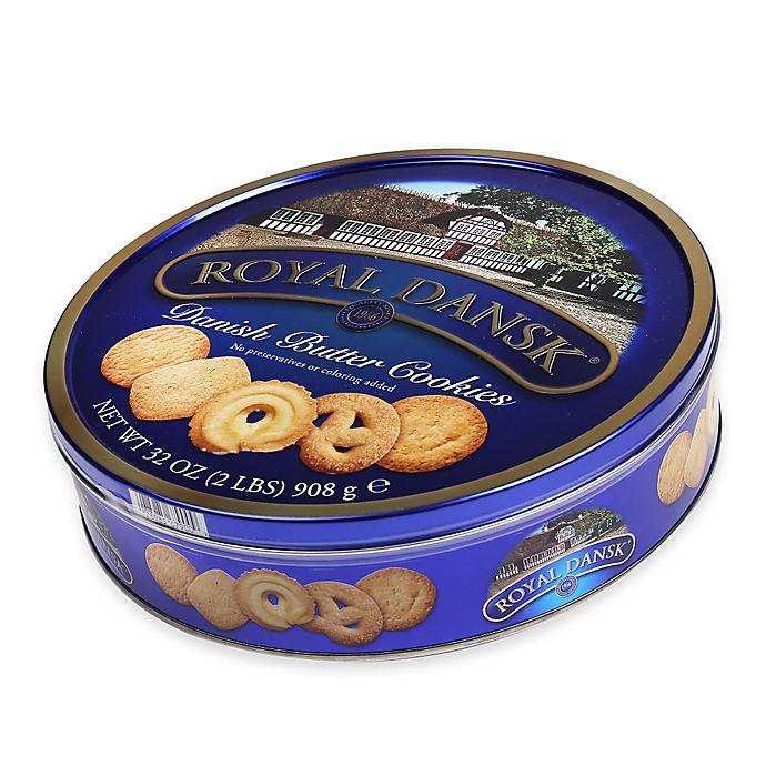 Alternate image 1 for Royal Dansk® 32 oz. Danish Butter Cookies Tin