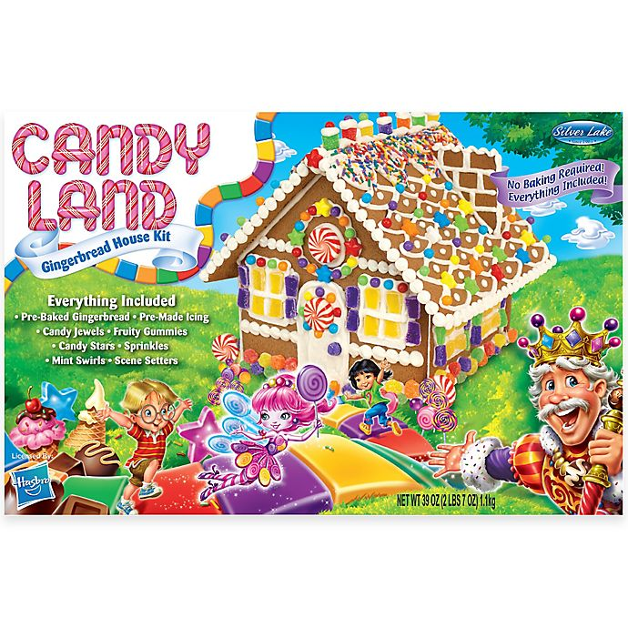 Alternate image 1 for Candyland Gingerbread House Kit