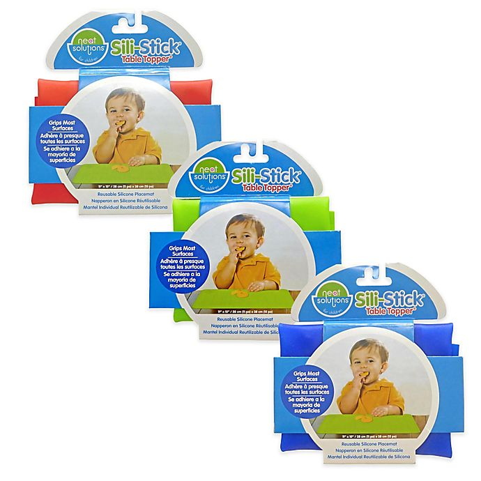 Alternate image 1 for Neat Solutions® Sili-Stick® Table Topper® Reusable Silicone Placemat