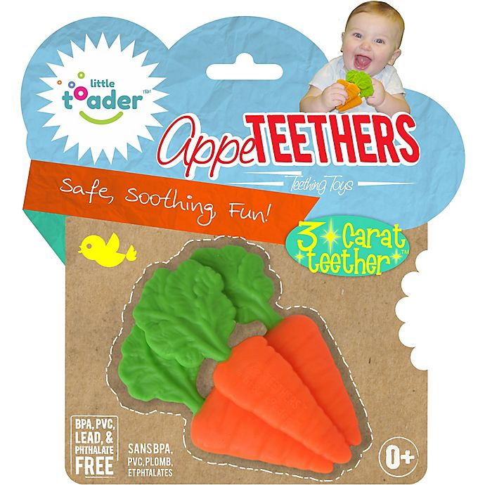 Alternate image 1 for Little Toader™ AppeTEETHERS™ 3-Carat Teether™