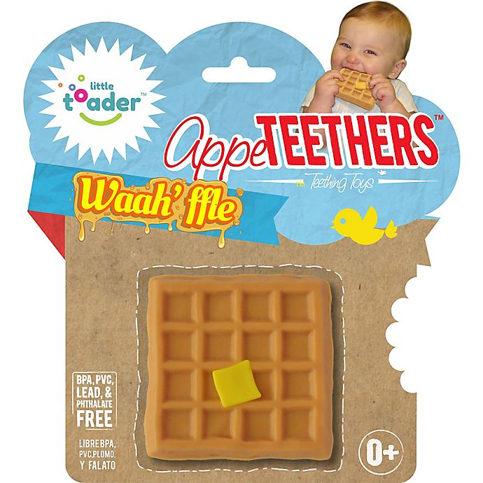 Alternate image 1 for Little Toader™ AppeTEETHERS™ Waah'ffle™