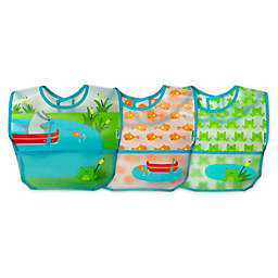 green sprouts® 3-Pack Pond Wipe-Off Bibs