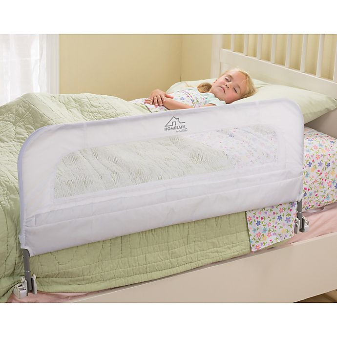 Alternate image 1 for HOMESAFE™ by Summer Infant® Serenity Single Fold Bedrail