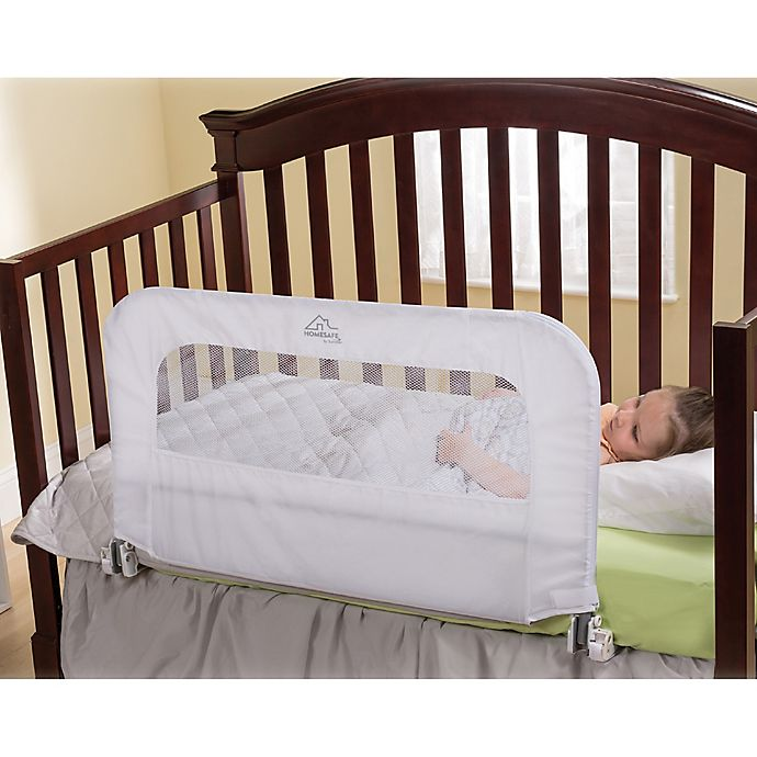 Alternate image 1 for HOMESAFE™ by Summer Infant® 2 in 1 Convertible Crib Rail & Bedrail