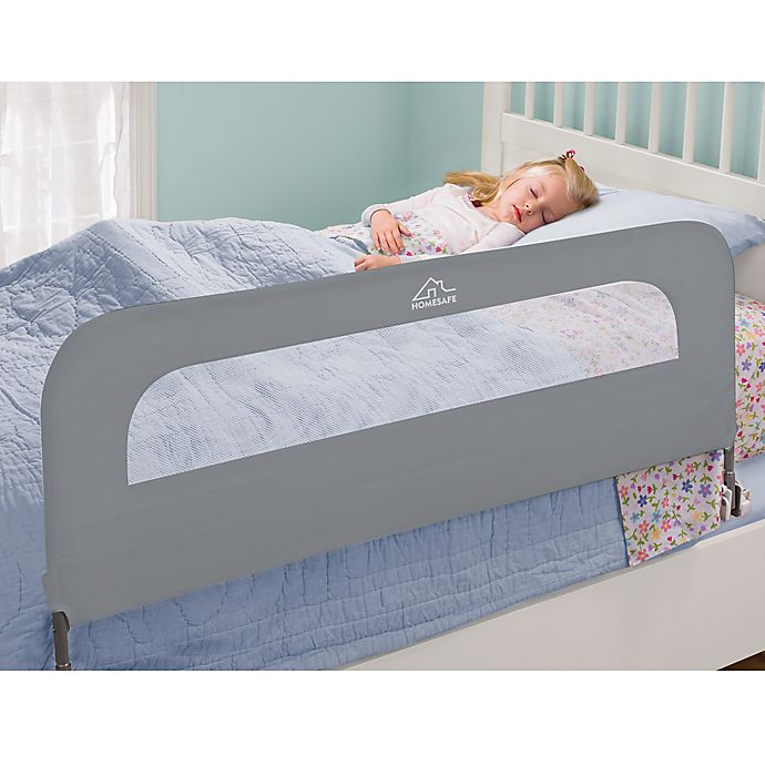 Alternate image 1 for HOMESAFE™ by Summer Infant® Extra Long Folding Single Bedrail