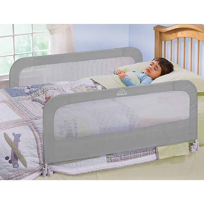 Alternate image 1 for HOMESAFE™ by Summer Infant® Silver Night Double Bedrail