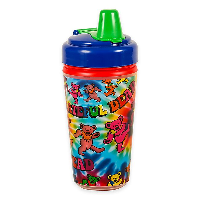 Alternate image 1 for Daphyls™ Grateful Dead Tie Dye Insulated Sippy Cup