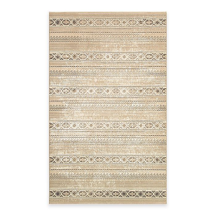 Alternate image 1 for Couristan® Marina Malta 2-Foot x 3-Foot 11-Inch Accent Rug in Tan