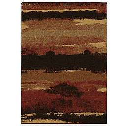 Aria Rugs Euphoria Cabell 7-Foot 10-Inch x 19-Foot 10-Inch Area Rug in Red