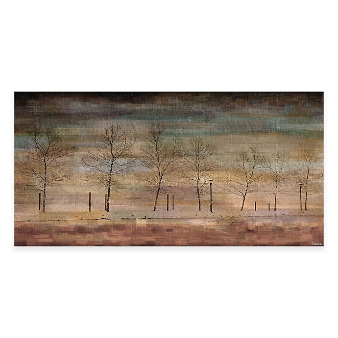 Alternate image 1 for Parvez Taj The Woods 24-Inch x 12-Inch Canvas Wall Art