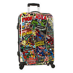 Marvel® Comics 26-Inch Hardside Spinner Checked Luggage