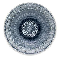 Euro Ceramica Fez Serving Bowl in Grey