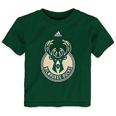 NBA Milwaukee Bucks Short Sleeve Shirt in Green