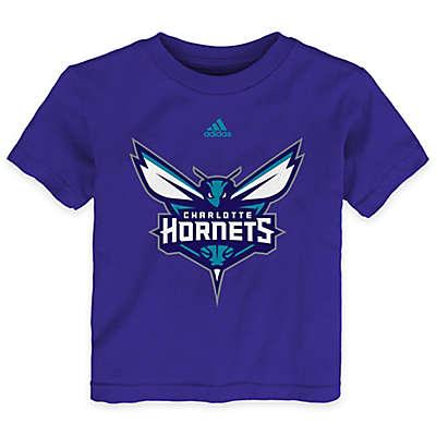 NBA Charlotte Hornets Short Sleeve Shirt in Purple