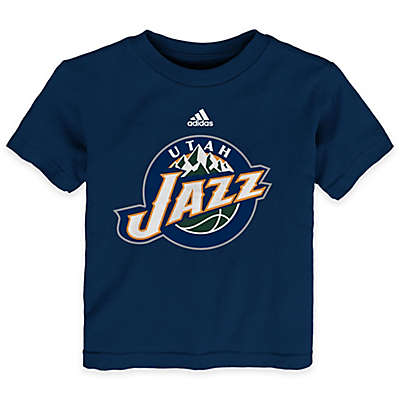 NBA Utah Jazz Short Sleeve Shirt in Purple
