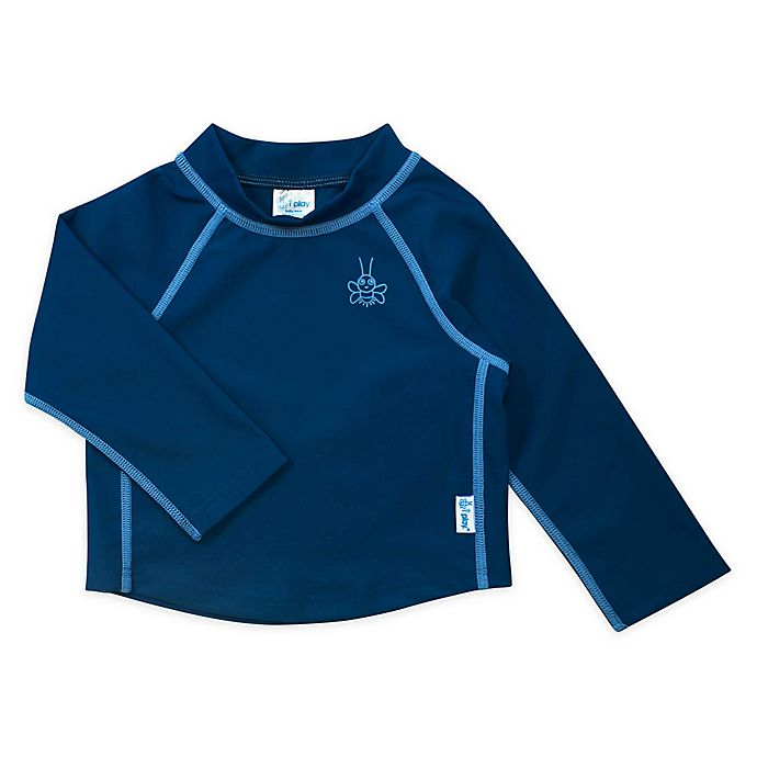 Alternate image 1 for i play.® by green sprouts® Long Sleeve Rashguard