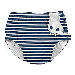 i play.® by green sprouts® Stripe Swim Diaper in Navy