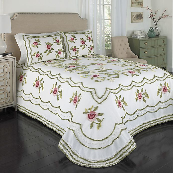 Samantha Chenille Bedspread Bed Bath And Beyond Canada