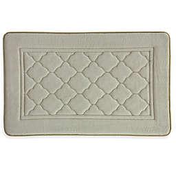Bacova Microban Florence 20-Inch x 32-Inch Memory Foam Bath Rug