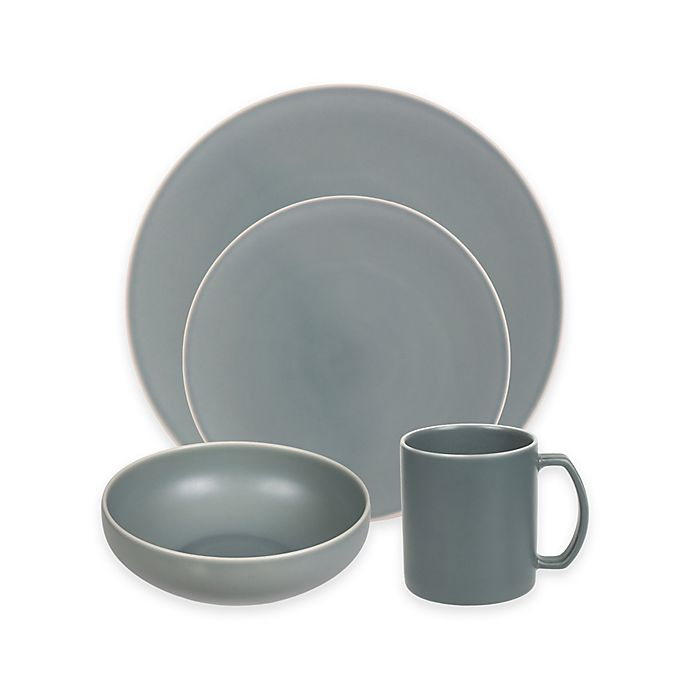Alternate image 1 for Artisanal Kitchen Supply® Edge Dinnerware Collection in Celadon