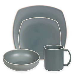 Artisanal Kitchen Supply® Edge Square Dinnerware Collection in Celadon