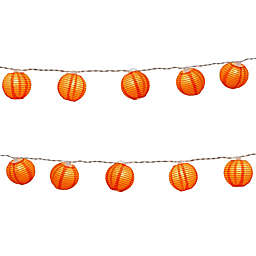 "Electric String Light with 3"" Nylon Lanterns (Set of 10)"
