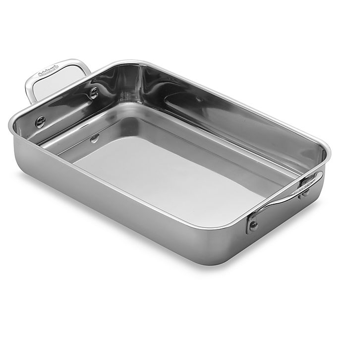 Alternate image 1 for Cuisinart® Chef's Classic™ Stainless Steel 14-Inch Lasagna Pan