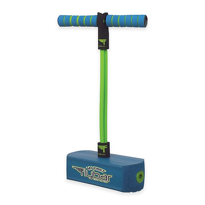 Alternate image 1 for Flybar™ My First Flybar Pogo Stick in Blue/Green