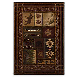 United Weavers Contours Cabin Chalet Rug