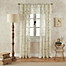 Part of the Finch Sheer Window Curtain Panel and Valance