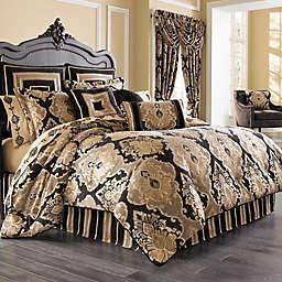 J. Queen New York™ Bradshaw Black Comforter Set in Black