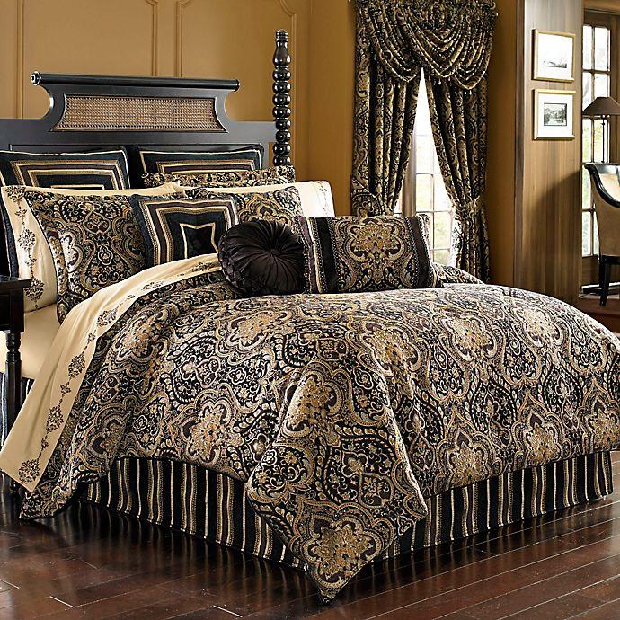j queen new york™ paramount comforter set in chocolate