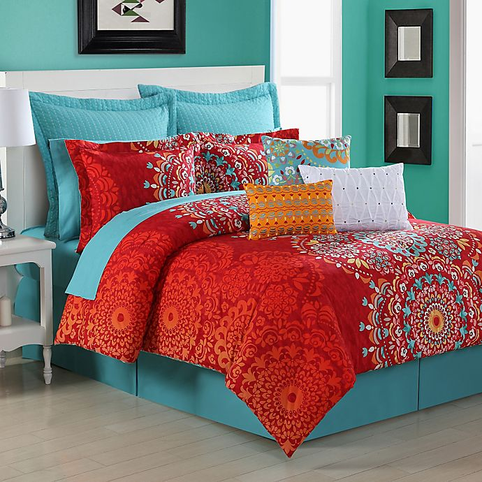 Alternate image 1 for Fiesta® Cozumel Reversible Comforter Set