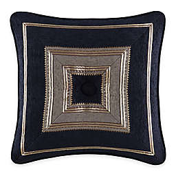 J. Queen New York™ Bradshaw Black Tufted Square Throw Pillow in Black