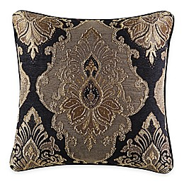 J. Queen New York™ Bradshaw Black Square Throw Pillow in Black