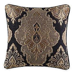 J. Queen New York™ Bradshaw Black Square Throw Pillow in Black
