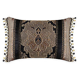 J. Queen New York™ Bradshaw Black Boudoir Throw Pillow in Black