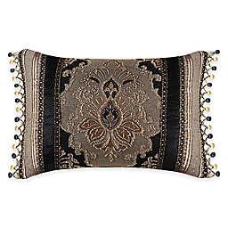 J. Queen New York™ Bradshaw Black Boudoir Throw Pillow in Black