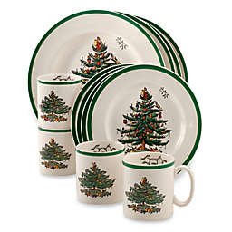 Spode® Christmas Tree 12-Piece Dinnerware Set