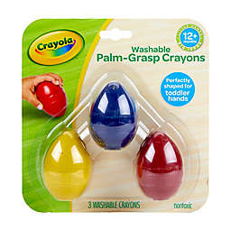 Crayola® My First Crayola 3-Pack Palm Grasp Crayon Set